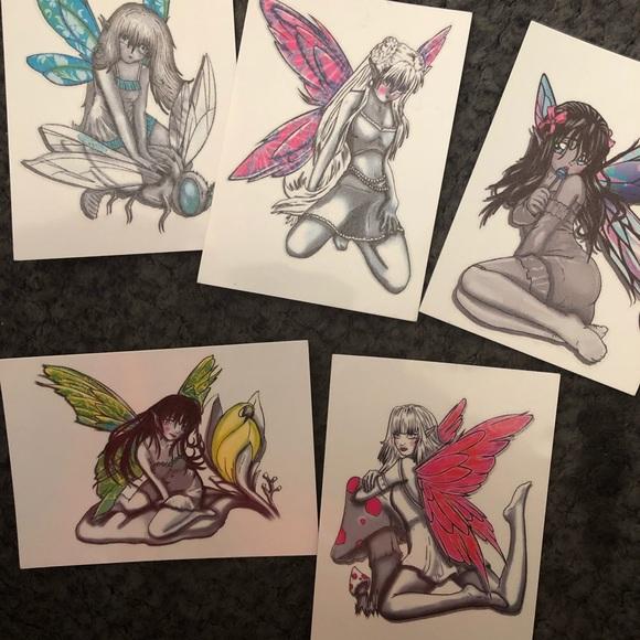 Sexy Fairy Temporary Tattoos